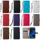 LD Fashion Flip Pattern Hybrid Stand PU Leather Cover TPU Case Wallet For Phone