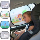 2X Durable Baby Car Window Sun Visor Mesh Sun Shade Sunshade Sun Shield Anti-UV