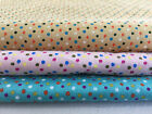 1mm. CLASSIC POLKA DOT CIRCLE SPOT VINTAGE RETRO PRINT 100% Cotton Fabric
