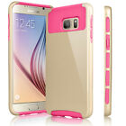 Shockproof Hybrid Rubber Protective Cover Case For Samsung Galaxy S6 / S6 Edge