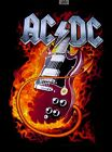 AC/DC Ac Dc Highway to Hell Back in Black Ice Black T Shirt  Sizes 5x, 6x