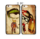 Cartoon Joker and Harley Quinn Best Friends Cover Case For iphone Model - Two