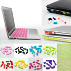 For Macbook Air Pro Retin Silicone Ports Cover Anti-Dust Plug Covers Accessory