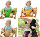 New Baby Infant Dining Chair Safe Belt Strap Harness Travel Feeding Booster