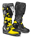 SIDI X3 XTREME SRS FLUO YELLOW BLACK MX MOTOCROSS OFF ROAD MOTORCYCLE BOOTS