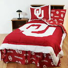 Oklahoma Sooners Comforter Sham Throw Blanket Twin Full Queen King Size