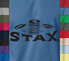 STAX Records Music Label Soft Cotton T-Shirt Retro Vintage USA American Soul Tee