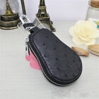 New Fashion  Unisex PU Leather Wallet Car Key Chain Coin Holder Case Remote Bag