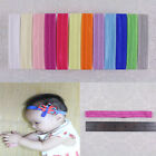 50~200pcs headbands Girl Baby multi-color smooth surface Hair accessories K1 Y