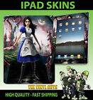 IPAD AIR SKIN VINYL STICKER ALICE MADNESS RETURNS MCGEES ALICE SELF ADHESIVE
