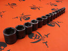 Snap-On Tools IMFM (8mm-24mm) 3/8 Drive 6-Pt Shallow Impact Sockets - PICK SIZE