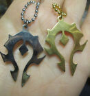 World of Warcraft Horde Symbol Inspired Necklace