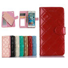 Fashion 2in1 Detachable Magnetic Leather Wallet Mirror Case For iPhone 6 6s Plus