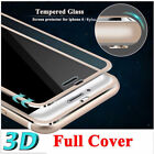 For iPhone6 6S Plus 3D Metal Full Cover Temper Glass Screen Film Cover Protector