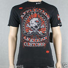 Affliction SPADE KILLS A7690  Men' T-shirt Tee Black