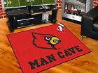 Louisville Cardinals Man Cave Area Rug Choose from 4 Sizes