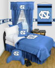 North Carolina Tar Heels Comforter & Pillowcase Twin Full Queen Size LR