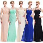Clearance ~ Long Bridesmaid Formal Wedding Party Prom Maxi Dress Masquerade Gown
