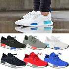 New Womens Ladies Flat Runner Sneakers Trainers Lace Up Gym Sports Shoes Size