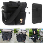 Multifunction Baby Diaper Nappy Changing Bag Mummy Tote Handbag+Changing Mat Pad