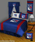 New York Rangers Comforter & Pillowcase Twin Full Queen King Size