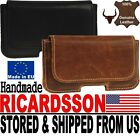 # RICARDSSON REAL GENUINE LEATHER BELT LOOP HOLSTER POUCH CASE FOR MOBILE PHONES for sale  Traverse City