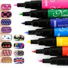 Nail Art Pen Painting Design Tool Drawing for UV Gel Polish 12 colors New CaF8