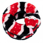 Dog Toy - Plush Snakes. NO STUFFING. Just Squeakers. REDUCED PRICE. Red or Green