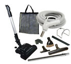 30' or 35' Deluxe Central Vacuum Kit w/Hose, Power Head &...