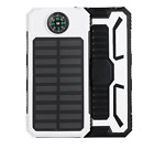 POWERNEWS 100000mAh 2 USB Portable Battery Charger Solar Power Bank For Phone