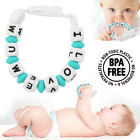 Baby Silicone Pacifier Clip Holder Teething Toy Soother Nipple Chain Teether New
