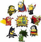 9 Minions despicable me Iron on heat transfer Superhero heroes Marvel avengers