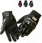 Racing Motorcycle Cycling Bicycle Fashional Black Full Finger Gloves Protection