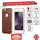 Luxury Real Genuine Distressed Leather Hybrid Case Cover For Apple iPhone 6 6s +
