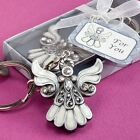 6 X Angel Keyring Keychain Baptism Christening Confirmation Wedding Party Favour