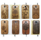 Real Natural Genuine Wooden Bamboo Case Cover For Samsung Galaxy S4 / i9500
