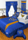 West Virginia Mountaineers Comforter and Sheet Set Twin Full Queen King Size