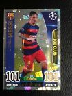 MATCH ATTAX CHAMPIONS LEAGUE 15/16. MESSI NEUER RAMOS HAZARD 100 HUNDRED CLUB