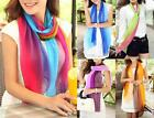 AU SELLER Tie Dye Colour Soft Chiffon Formal Cocktail Wrap SCARF/SHAWL sc022