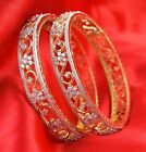 32 Indian Bollywood Ethnic Bangles Bridal Bracelets Crystal Fashion Jewelry Pcs