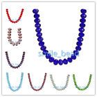 16mm Faceted Rondelle 5040# Glass Crystal Loose Spacer Beads DIY Jewelry Making