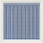 OXFORD MODERN TEXTURED SQUARES THICK WHITE VISION NET CURTAIN SOLD BY THE METRE