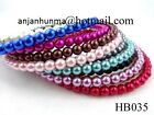 Girls headbands ladies headband PEARL HEADBAND hairbands in multi colors