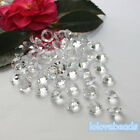 10mm 4CT Clear Acrylic Diamond Confetti Wedding Party Crystals Table Scatters