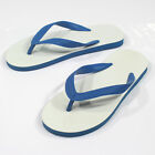 100% Natural Rubber Vintage Nanyang Flip flops Thongs Sandals Flat Slippers