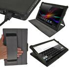 "PU Leather Folio Skin Case Cover Holder for Sony Xperia Tablet Z 10.1"" Tablet"