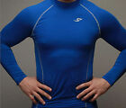 New Men's Compression Under Base Layer Top Tight Long Sleeve T-Shirts 039(S~XXL)