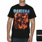New: PANTERA - Group Photo (Black) Metal Concert T-Shirt