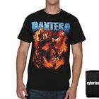 New: PANTERA - Group Photo (Black) Metal Concert T-Shirt image