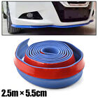 CAR FRONT BUMPER LIP SKIRT PROTECTOR SIDE SPOILER HOOD CHIN GUARD STICKER COVER